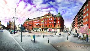 Hur upplevs entrén till Gävle om man som besökare kommer hit med tåg? Det är en av frågeställningarna som förslaget bygger på.
