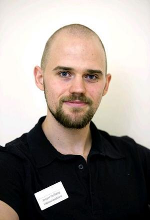 Jesper Hellberg, hälsoutvecklare, lungkliniken på USÖ.