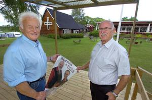 Roland Åkerlund och Folke Ramm.