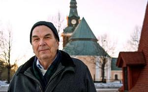 Nils Uhlén säger att han är och förblir socialdemokrat, men han går ur partiet på grund av behandlingen från de forna partikamraterna i främst Mora församling. Foto: Jennie-Lie Kjörnsberg