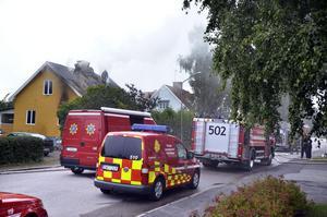 Oklart. Det går inte fastställa vad som orsakade branden på Gårdsjögatan i Askersund på torsdagen.