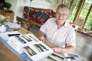 Bo G Hall, historiekännare i Ångermanland, delar varje sommar med sig av vykort från sin stora samling.
