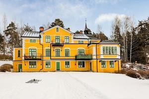 Representativ våning i ett av Faluns mest eftertraktade områden.