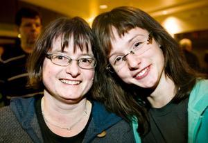 Irene och Anna Nilsson från Frövi.