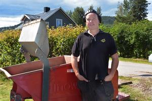 Tomas Nordin brukar ofta hjälpa GMIS på frivillig basis.