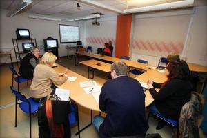 Från Krokom deltog politiker och andra intresserade när man höll en videokonferens om en eventuell framtida urangruva i Myrviken.