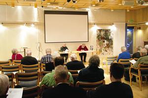Årets årsmöte för Aksel Lindström Sällskapet hölls i Östersunds bibliotek den 15 mars.