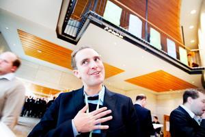 Riksdagsledamot Tomas Tobé, 31 år från Gävle, föreslås bli Moderaternas toppkandidat från Gävleborg även vid nästa val.