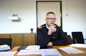 Västerås lokalpolisområdeschef Per Ågren.