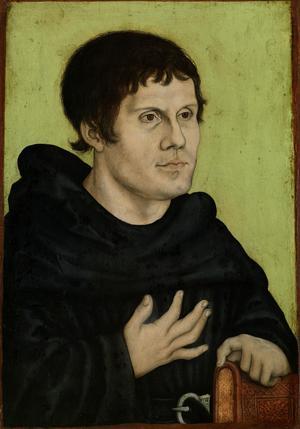 Martin Luther som augustinermunk.
