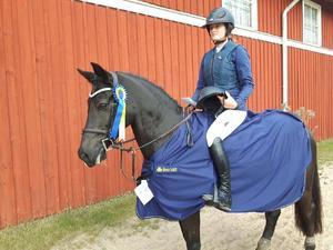 Med Woodfield Light blev det fina framgångar i Ljungby för Michelle Cranning Hillgren.