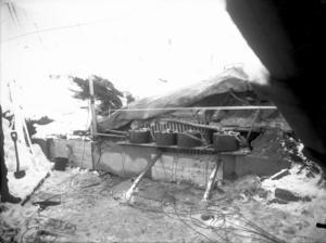 Heroiska insatser gjordes för att rikta sprängkraften uppåt så att Grängesberg inte skulle skadas, alla i Grängesberg evakuerades med tåg inför sprängningen