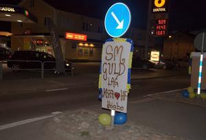 I Delsbo är man stolta över sina svenska mästare.