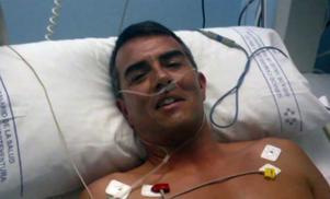 Det var den 9 maj som Rafael drabbades av hjärtstillestånd, men Thomas Waller fick honom tillbaka till livet.