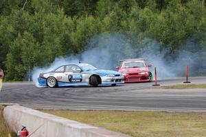 Finalen mellan Generation Sideways Johan Andersson och BRL Racings David Skogsby slutade med seger för Andersson.