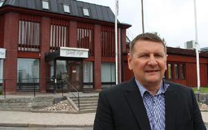Jan Näslund trivs på sitt nya jobb som vd för Gamla Byn. Nu startar arbetet på allvar. Foto: Eva Högkvist