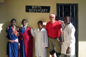 Den nya sjukstugan vid byn Sale i norra Tanzania nära gränsen mot Kenya.
