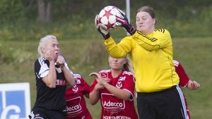 Hanna Eldstål hade stor del i 1–0-segern.