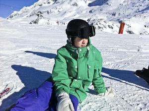 En säsong i alperna är en dröm för många. För 19-åriga Tove Sahlin från Söderhamn är det verklighet.