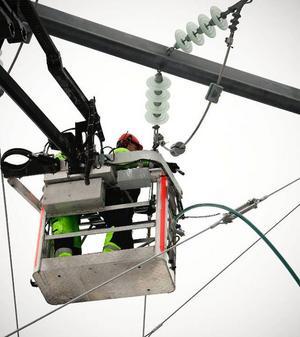 80 mil ledning ska bytas i Jämtland. Foto: Olof Sjödin