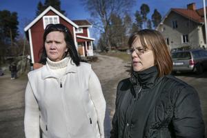 Carina Karlsson och Ann-Sofie Fredriksson är kontaktpersoner i nätverk Gävleborg.