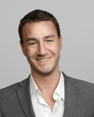 Johan Vesterberg, presschef på Fastighetsbyrån.