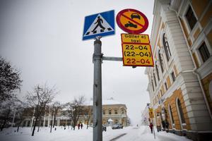 Polisen vill gärna utvidga trafikförbudet så att det omfattar Storgatan mellan Nygatan och Käppuddsgatan.