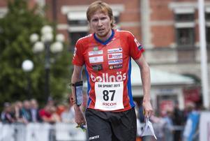 Jerker Lysell blev femma på SM-sprinten under SM-veckan i Sundsvall i juni.