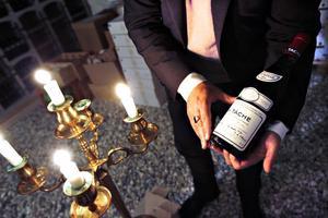 DRC La Tache är ett vin som serverades vid den speciella middagen på Restaurang Matildas i torsdags.