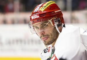 Maxim Lapierre gjorde 19 poäng på 34 matcher i Modotröjan.