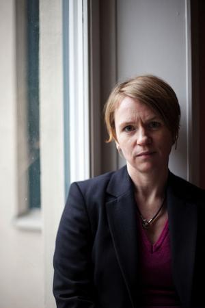 Rebecka Bohlin besökte Sundsvall på internationella kvinnodagen för att berätta om Europas nya proletariat.