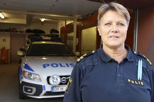 Agneta Kumlin, lokalpolisområdeschef  för Sala-Fagersta-Surahammar.
