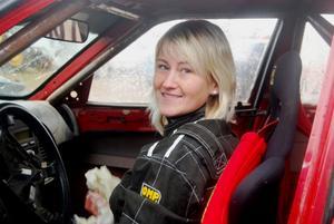 Marie Johansson i ledningen inför finalen.