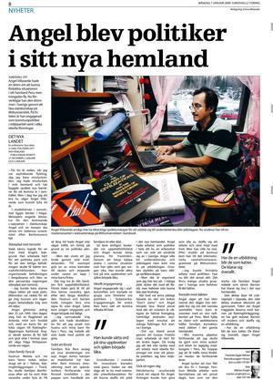 Intervjun med Angel Villaverde från 2008.