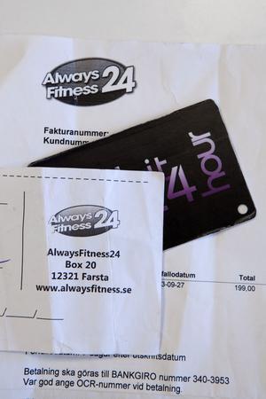 Betalning till Alwaysfitness24 går till Daydream Sweden AB.