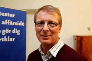 Anders Nordén, näringslivschef – och kulturchef.
