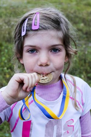 Alla fick medalj.