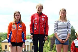 Rehns BK:s Kristin Olovsson blev tvåa bakom Sara Hagström, Falköping. Trea slutade Frida Sandberg, Säterbygden.