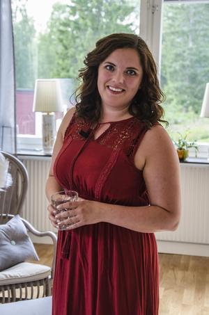 Margareta Österlund har gjort mycket egen inredning i hemmet.