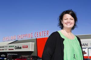 Efter sex år sluta Jessica Alenbring som centrumchef på Erikslund Shopping Center.