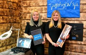 Elsa Haglunds och Sofia Eks 24/7 Jewelry UF blev etta i Årets hantverk.