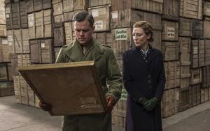 Matt Damon och Cate Blanchett jagar stulen konst i