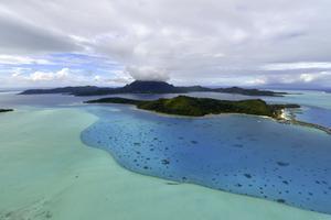 Bora Bora är en av de platser som valts ut för sitt fotogeniska utseende.
