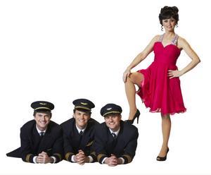 """Teaterdebuterar.  Nanne Grönvall spelar huvudrollen i komedin """"Boeing Boeing"""" i höst."""