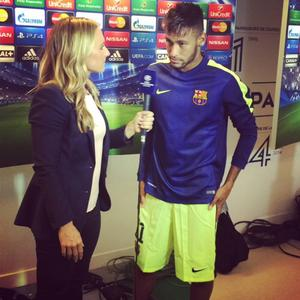 Tisdag, Parc de Princes: Neymar ställde upp på intervju besvikelsen till trots. Han sa att Barcelona skulle analysera matchen och göra läxan ordentligt nästa gång.