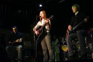 Sveg 2003 – vinnarna i Musikskolans Grand Prix: Sveg Daniel Hammarström, Sara Elvberg och Lars Nelson.