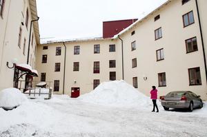 Kvarteret Grönborgs innergård. Här kan Mittuniversitetet få en ny innovationspark och ett nytt kårhus.