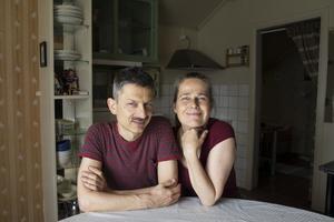 Martin och Cecilia har bott i den gamla lanthandeln i drygt 15 år.