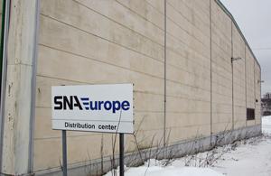 SNA Europe hyr in sig i lokaler på Sandviks södra område