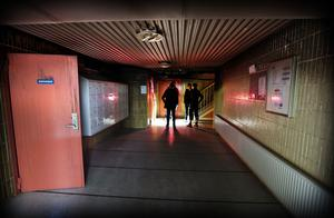 Portuppgången till  lägenheterna i Jakobsgatan 79.